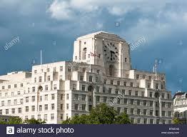 Art Deco Shell Mex Building London Uk Stock Photo Royalty Free