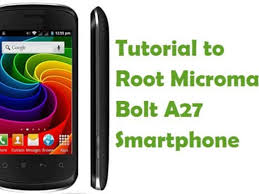 How To Root Micromax Bolt A27 Android ...