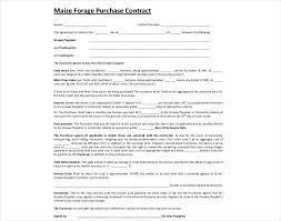 Purchasing Contracts Templates 15 Purchase Contract Examples Pdf Google Docs Word Examples