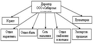 Курсовая работа Управление товарными запасами предприятия  Рисунок 5 1 Предлагаемая схема управления ООО Сибирская компания