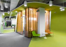 lime green office. Lime Green Office. 5 Of 17; Colourful Pods House Meeting Rooms In IT Firm Office C