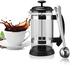If you like to drink this sounds much too obvious, but it's very easy to overlook. Amazon Com Mg Coffee French Press Coffee Maker 9 Cup 34 Oz Coffee Tea Pod Perfect For Family Office Or Picnic Kitchen Dining