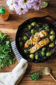 sriracha lime salmon w garlic