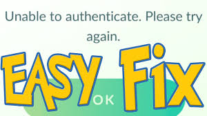FIXED Unable to authenticate Please Try again Pokemon Go Fix - YouTube