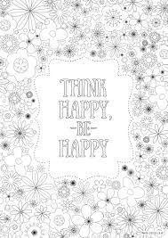 Small Picture Free Printable Adult Colouring Pages Inspirational Quotes for