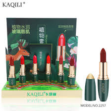 chinese makeup brands unique beeswax innovative glossy luxury lipstick