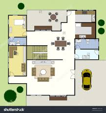 ground floor plan floorplan house home building architecture blueprint layout preview save to a lightbox