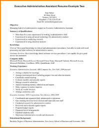 administrative assistant resume summary technician resume administrative assistant resume summary executive administrative assistant resume examples to get ideas how to make chic resume 13 jpg