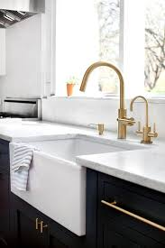 Brass High Arc Kitchen Faucet Design Ideas