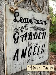 inspirational sign with angelic grace