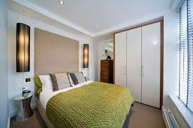 Small Bedroom Design with Wardrobe