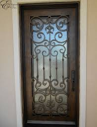 wrought iron front doorsWrought Iron Doors Design for Exterior Door  WHomeStudiocom