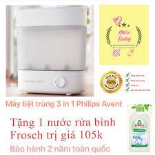 Giá bán Máy tiệt trùng bình sữa 3 in 1 Philips Avent Phiên bản 2.0