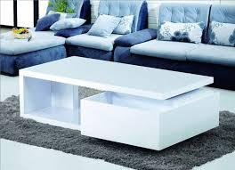 newtown white high gloss coffee table