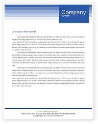 Templates In Ms Word 2010 Free Letterhead Templates Microsoft Word Business Mentor