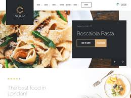 Restaurant Website Templates Classy 48 Stunning Restaurant Website Templates 4818 UiCookies