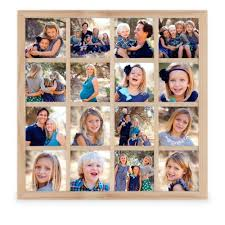 baby collage frame photo gallery grid 16 square frame collage picture frames