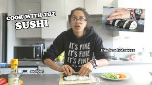 Sushi Cook I Tried To Make Sushi Cook With Taz Clickfortaz