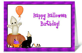 halloween birthday greeting halloween birthday send this greeting card designed by starstock