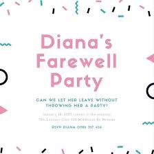 Farewell Invites For Colleagues Farewell Invite Template Caseyroberts Co