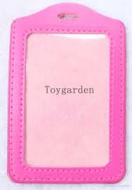 Wholesale Sell Pink Teacher Id Badge Name Tag Key Card Holder