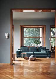 Trending Paint Colors For Living Rooms Dark Gray Matte Wall Paint Color Bedroom With A Dark Hardwood