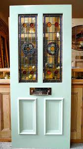 stained glass door panels and glazed front doors stained glass door panels uk