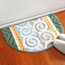 semi circular rug national style welcome doormat size polyester semi circle living room carpet bathroom rugs semi circular rug