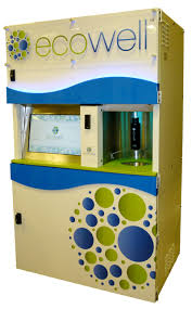 Eco Vending Machine Classy Ecowell An EcoFriendly Alternative To Vending Machines Recycling