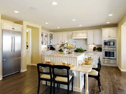 living room small eat in kitchen ideas home styles solid wood top island cart wall