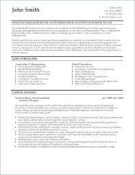 Resume Examples For Bank Teller Position Restaurant General Manager