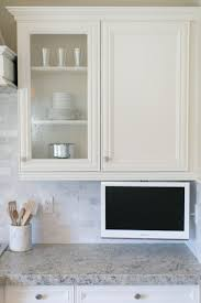 Tv In Kitchen 17 Best Ideas About Kitchen Tv On Pinterest Tv In Kitchen