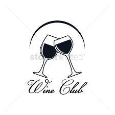 1514412 wine glass cheers wine club label