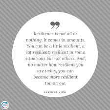 KarenReivichquoteonresilience Positive Routines Impressive Resilience Quotes