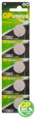 Купить <b>Батарейка GP Lithium</b> Cell <b>CR2032</b> 5 шт блистер по ...