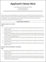 Chronological Resume Template Best Reverse Chronological Resume Template Download Example 28