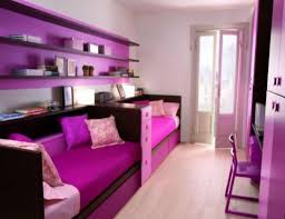 Small Bedroom For Girls Two Tone Stripes Wall Paint Ideas Small Bedroom Ideas For Teenage