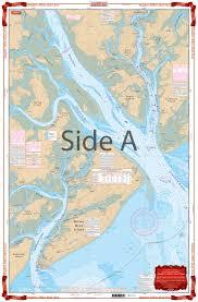 Beaufort And Hilton Head Area Navigation Chart 93