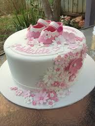 Baby Girl Baptism Cake Cakes For Ruby Flickr
