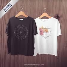 Tshirt Psd T Shirts Mockup Psd File Free Download