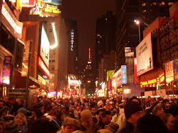 advantages of small town living vs the advantages of big city  new york times square new year celebrations in 2006