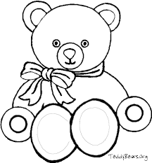 Small Picture Download teddy bear coloring pages