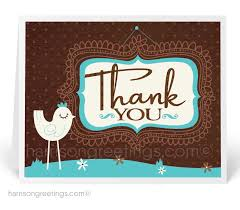 Business Thank You Note Cards Retro Modern Thank You Note Cards 1305 Custom Invitations And