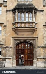 Decorating wicket door images : Oxford England July 2013 Oriel Colleges Stock Photo 301832813 ...