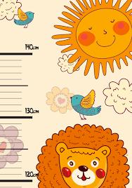 Height Chart Watch Your Kids Grow Cartridgesave