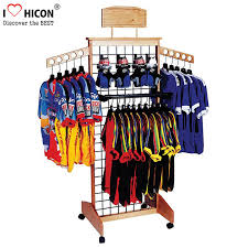 wooden retail clothing fixtures