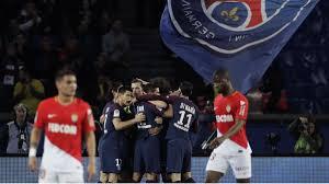 PSG clinch Ligue 1 title by thrashing Monaco - AS.com