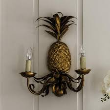 wall sconce. Pineapple Wall Sconce