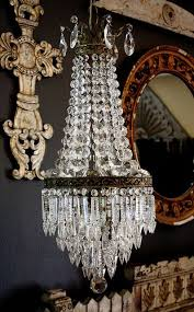 vintage chandeliers crystal french empire chandelier via flickr cxcfunb