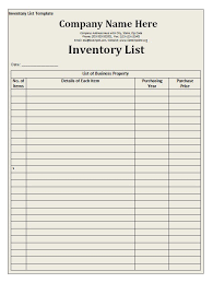 format of inventory material stock list format delli beriberi co